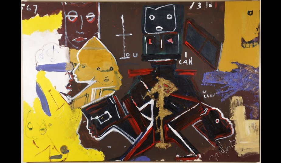 jean michel basquiat and stuart davis that are influenced by jazz Jordana moore saggese's reading basquiat: exploring ambivalence in american art is a monographic study of jean-michel basquiat, an artist who experienced a near meteoric rise and fall saggese acknowledges that moments of the artist's life were, in fact, dramatic however, that is not her main.